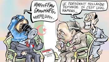 Namous, armes chimiques françaises