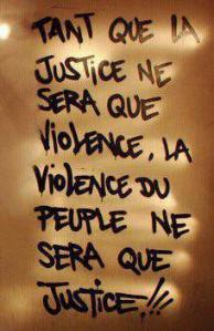 violence et justice