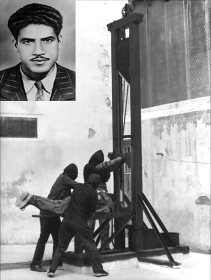 Les martyrs de la guillotine durant la guerre de Libération