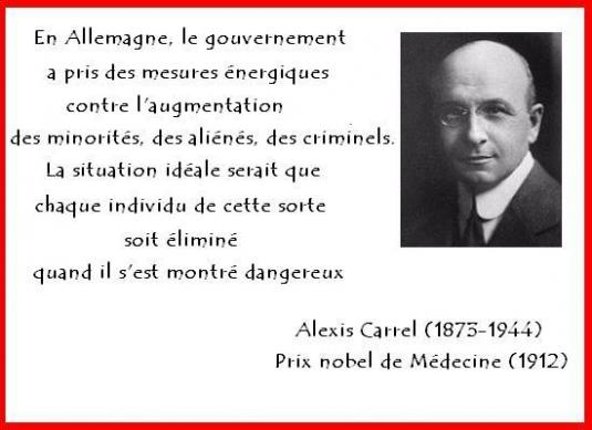 Alexis carrel eugeniste