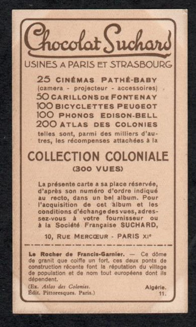 suchard collection coloniale