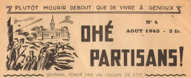 Journal FTP ohé partisan